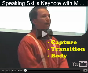 Educational Motivational Keynote Speech on Presentation Skills and Public Speaking